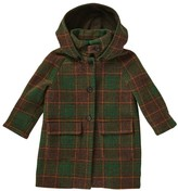 Caramel Baby & Child Tuff Check Wool Coat