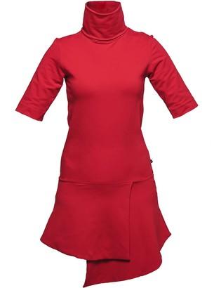 Non+ Non475 Roll Neck Short Dress