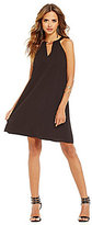 Gianni Bini Charlotte Fan Fav Bar-Neck A-line Dress