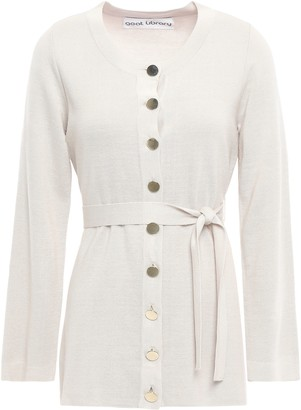 Goat Harding Belted Knitted Cardigan
