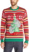 Blizzard Bay Men's Decorating Sloths Ugly Christmas Sweater