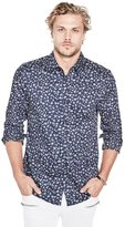 GUESS Luxe Mini Floral Print Shirt