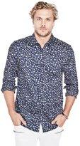 GUESS Men's Luxe Mini Floral Print Shirt