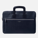 Aspinal of London Men's Connaught Document Case Navy
