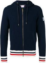 Moncler Gamme Bleu Cappuccio Tricot zip hoodie - men - Cotton - S
