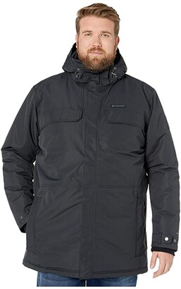 Columbia Big Tall Rugged Pathtm Parka (Black) Men's Coat
