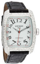 Locman Diamond Tonneau Watch