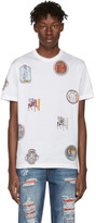 Versace White Greek Patch T-Shirt