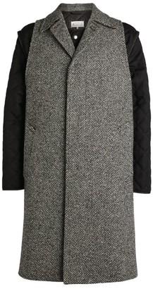 Maison Margiela Herringbone Two-In-One Coat
