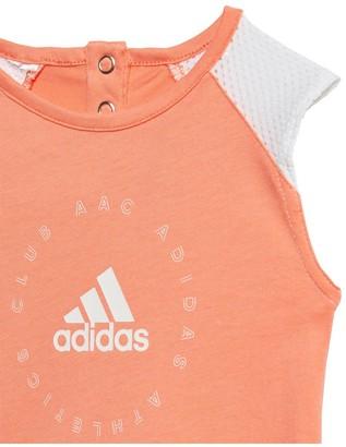 adidas Infant Girls Dress - Orange
