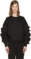 Stella McCartney Black Frills Pullover