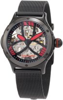 Stuhrling Original Women's 5AT.115964 Ladies Lifestyles Alpine Slalom Automatic Skeleton Red Watch