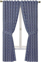 Waverly Lovely Lattice Rod-Pocket Curtain Panel with Tieback