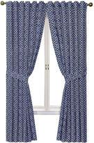 Waverly Lovely Lattice Rod-Pocket Curtain Panel with Tieback