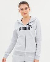 Puma Essential Logo Hooded Jacket