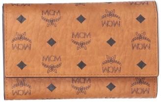 MCM Visetos Fold Wallet