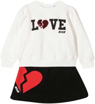 MSGM Two-piece Set White