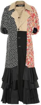 Junya Watanabe Reversible trench coat dress
