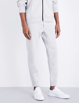 Polo Ralph Lauren Marl-print cotton-jersey jogging bottoms
