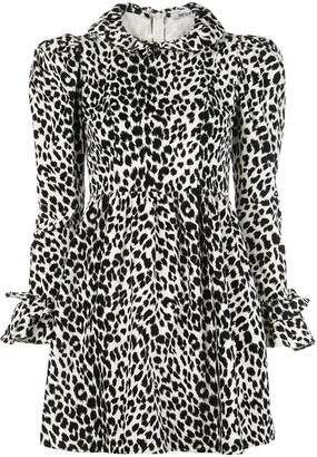 Batsheva Prairie puffed-sleeve mini dress