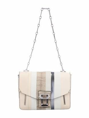 Proenza Schouler Hava Shoulder Bag Silver