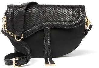 Steve Madden Bdori Snakeskin Embossed Crossbody Bag