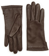 Jigsaw Ginny Whipstitch Leather Glove
