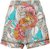 Trina Turk Bubbly shorts - women - Silk/Polyester/Spandex/Elastane - S