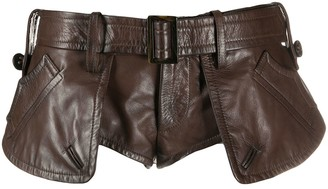 DSQUARED2 Belted-Waist Shorts