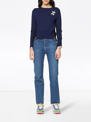 Marc Jacobs The DIY two-tone jumper