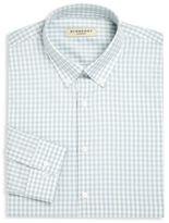 Burberry Gingham Checked Regular-Fit Dress Shirt