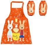 George Jimmy Kids Boy Girls Children's Painting/ Eating Waterproof Aprons/ Smock/Sleeves-A502
