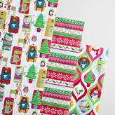 Kids Sweater Wrapping Paper Rolls 3 Pack