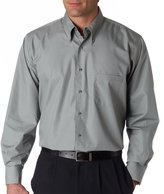 Van Heusen Men'S Easy Care Silky Poplin Dress Shirt (3X)