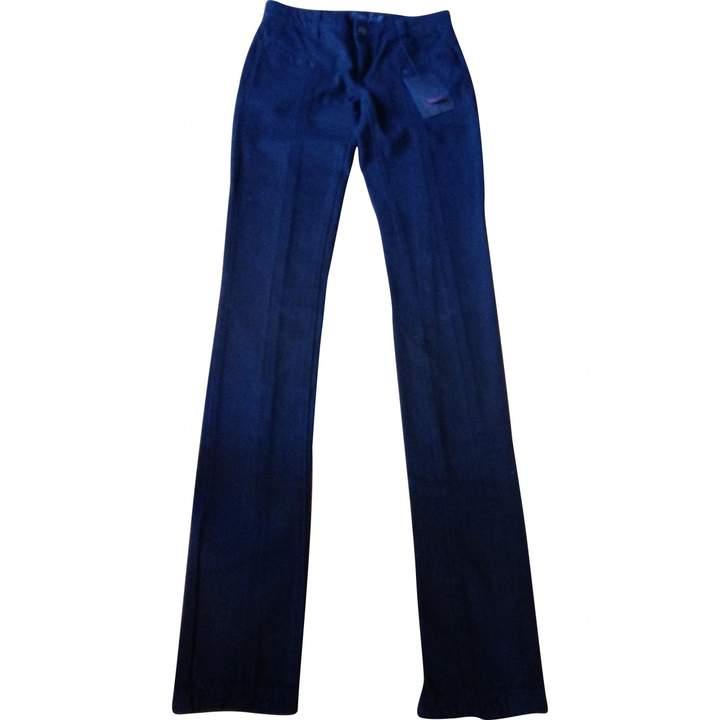 L'Wren Scott Black Cotton - elasthane Jeans for Women