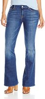 7 For All Mankind Women's Petite Tailorless a Pocket with Tonal a in