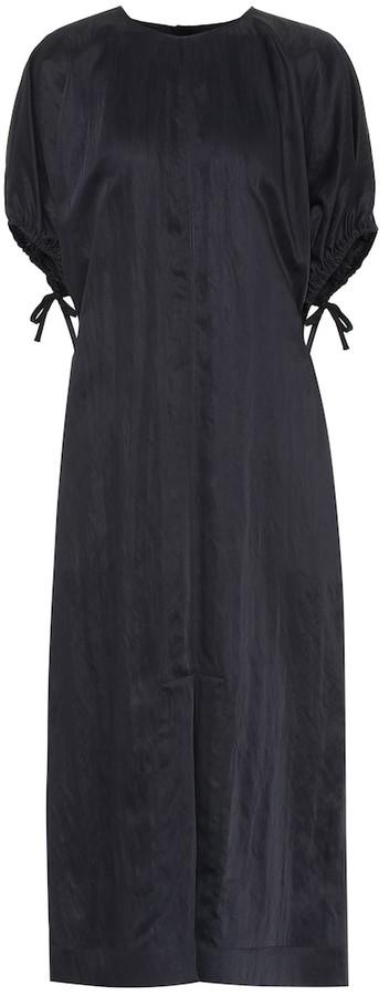 Jil Sander Textured midi dress
