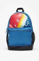 Fox Kick Stand Blue Backpack
