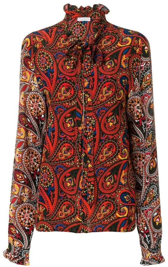 J.W.Anderson paisley print shirt
