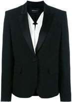 Emporio Armani one button blazer - women - Viscose/Polyester - 38