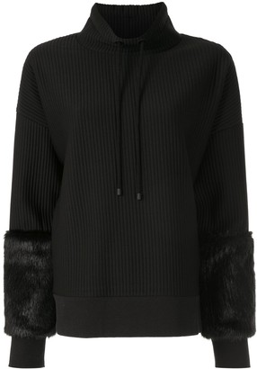 Elie Tahari Nixie ribbed jumper