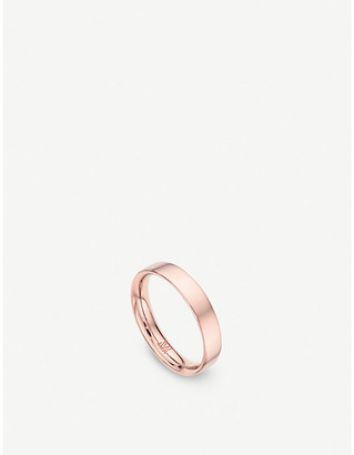 Monica Vinader Fiji Band 18ct rose-gold stacking ring