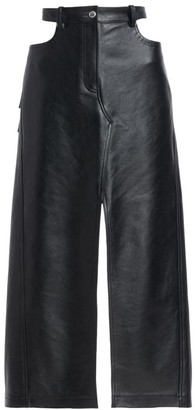 Alexander Wang Leather Midi Apron