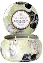 Voluspa 'Maison Jardin - Sake Lemon Flower' Two-Wick Candle