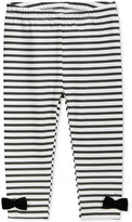 First Impressions Striped Bow Leggings, Baby Girls (0-24 months), Only at Macy's