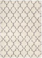 Nourison Amore Pattern Shag Rectangular Rug