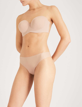 Fashion Forms Voluptuous self-adhesive silicone and stretch-jersey backless strapless bra