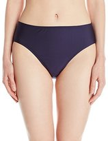 Nautica Women's Signature High Waist Bikini Bottom