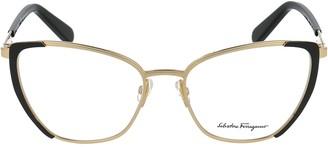 Salvatore Ferragamo Eyewear Cat Eye Glasses
