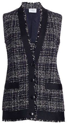 Akris Punto Tweed Patch Pocket Vest
